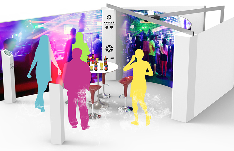 Immersive Room-sensory-haptic-speakers-multisensory-polysensory-scents-test-wind-mist-sound-effects-smoke-chamber-consumer-product