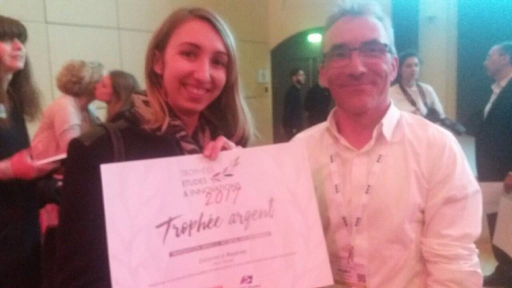 Trophée argent - Printemps de Études 2017