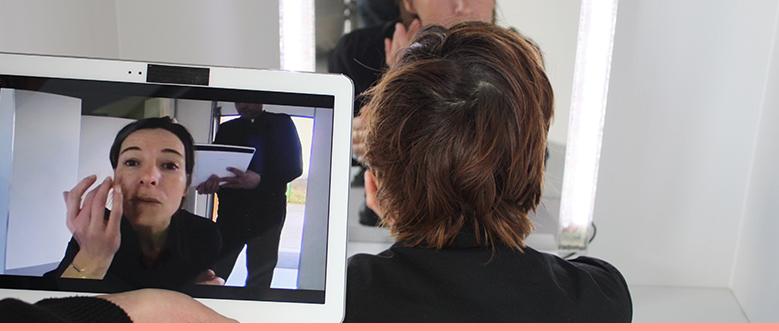 Miroir vidéo nomade