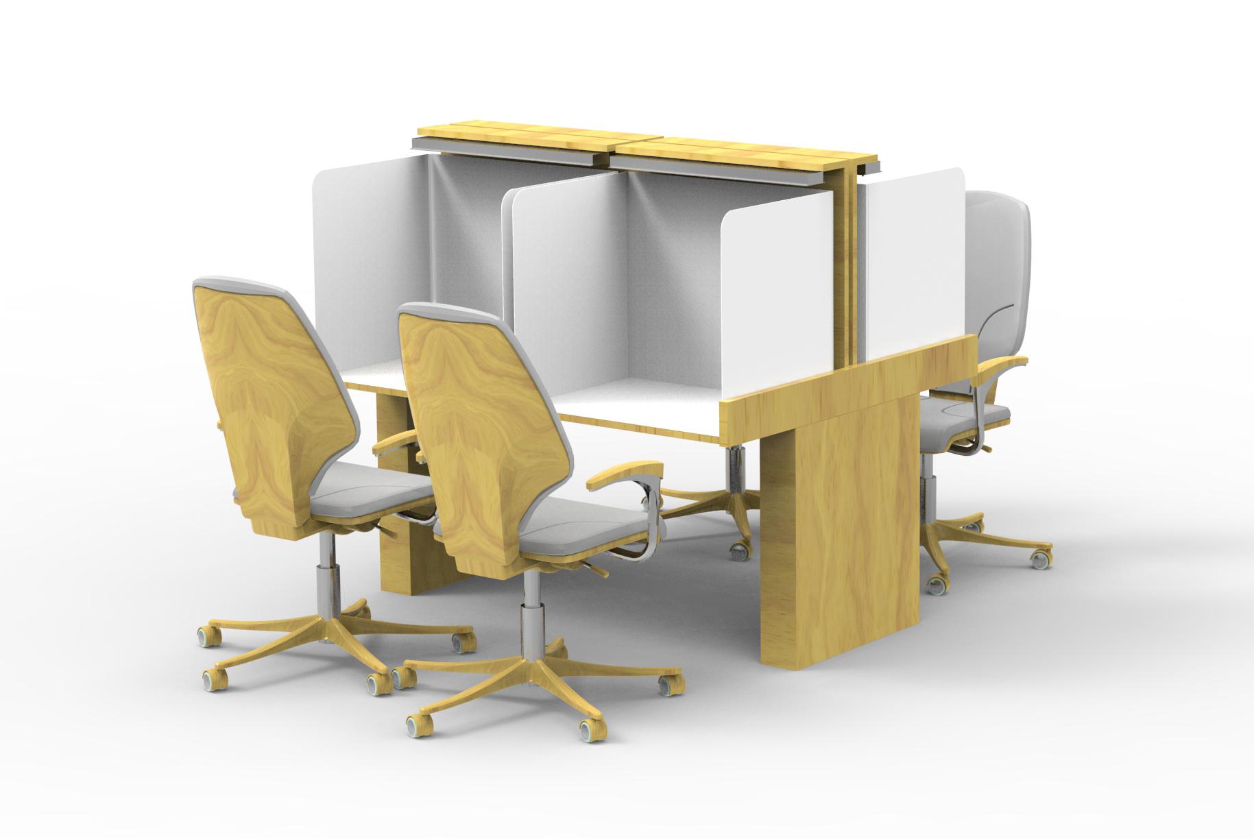 Table Lab-4 seats